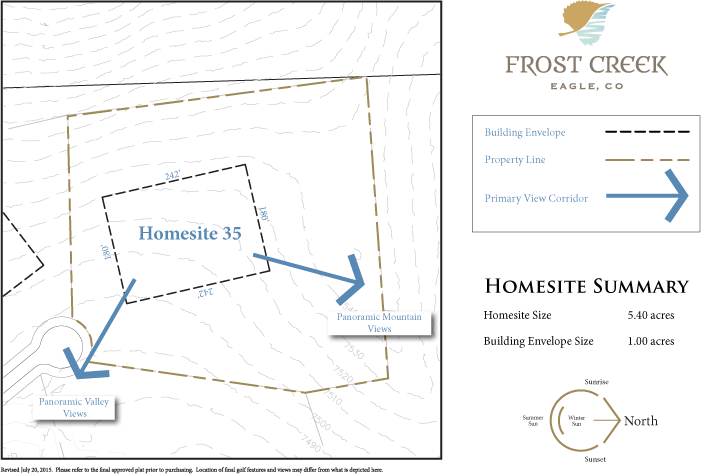 Homesite 35 diagram